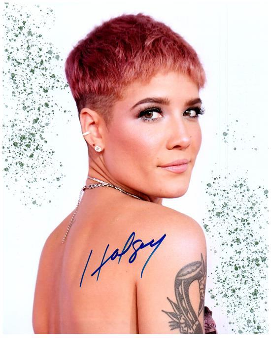Primary image for HALSEY  Authentic Autographed Signed 8X10 Photo w/Certificate - 27222