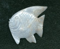 Primary image for CARVED ANGELITE FISH