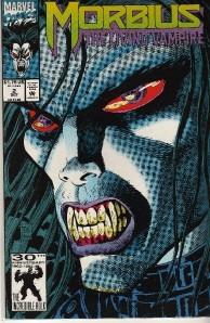 Marvel Comics Morbius The Living Vampire # 2 , 1992, and # 9 1993
