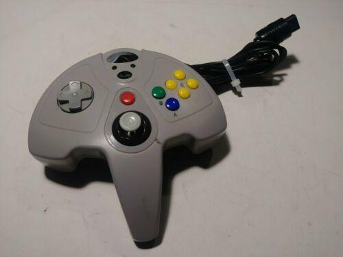 Nintendo 64 InterAct SuperPad 64 Colors Performance Controller P305 Grey