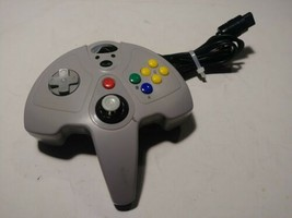 Nintendo 64 InterAct SuperPad 64 Colors Performance Controller P305 Grey - $12.99