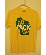 Mens NWOT Gildan Green Bay Packers Go Pack Go T Shirt Size S M L 2XL 3XL... - $9.95+