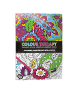 Adult Colour Therapy Anti-Stress Colouring Book A4 64 Page - $6.44