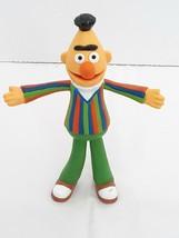 """VTG Sesame Street 5.5"""" Bert Figure Poseable / Bendable Applause 1980s Jim Henson - $11.94"""