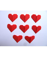 Origami Sweet Red Heart Set Of 300 - $18.00