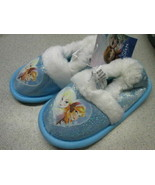 Disney Frozen Ana & Elsa house shoes SIZE 7/8 BRAND NEW! - $6.88