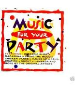 Music For Your Party Vol.1 CD  Electric Slide, Cha Cha Slide - $11.95