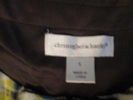 Womens Tank Top Small Christopher & Banks Brown... - $9.93
