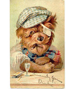 Every Dog Has His Day Finkenrath of Berlin 1909 Post Card - $1,000.00