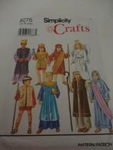 Vintage Simplicity 8276 Costume Pattern Angel Shepherd cut Size A (S,M, L) - $10.88