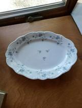 "Johann Haviland Blue Garland 12.5"" Oval Platter - $9.00"