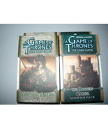 A Game of Thrones chapter pack lot 2 the banners gather a poisioned spear - $10.98