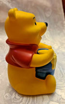 "4"" Disney Winnie the Pooh Squeak Toy with Honey Pot image 4"