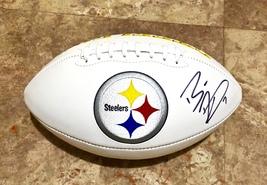 Ben Roethlisberger Signed Autographed Pittsburgh Steelers Logo Football w/COA - $289.99
