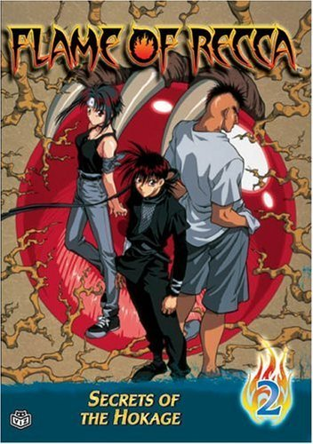 Flame of Recca: Secrets of the Hokage Vol. 02 DVD Brand NEW!