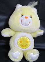 "Hasbro Care Bears Funshine Sunshine Bear 2002 plush 14"" - $8.90"