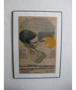 Super Rare Original French Syphillis Advertising Poster Paris c1926 - $3,395.84