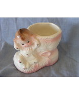 Vintage Baby Girl Nursery planter vase Pretty i... - $10.99