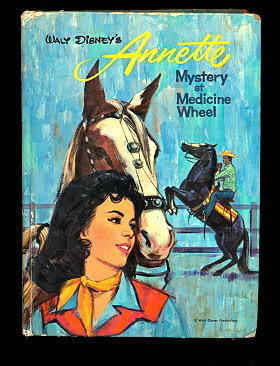 "Primary image for 1962 Whitman ""Annette, Mystery at Medicine Wheel"
