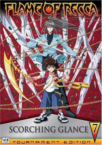 Flame of Recca: Scorching Glance Vol. 07 DVD Brand NEW!