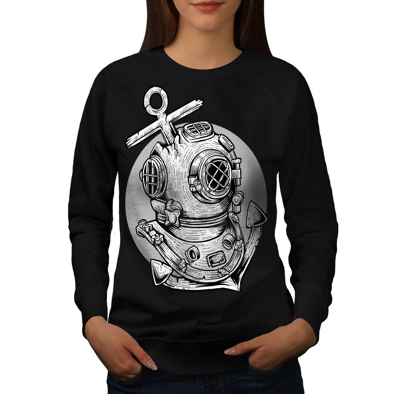 Primary image for Deep Sea Anchor Fashion Jumper  Women Sweatshirt