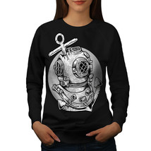 Deep Sea Anchor Fashion Jumper  Women Sweatshirt - $18.99