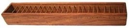 """Tibetan Incense Burner 12"""" with Wire Grill to lay incense across"""