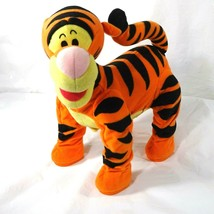 Fisher Price Pounce N Bounce Tigger Disney Winnie The Pooh 2003 Talking Bounces - $24.74