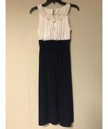 Sangria Women Dress Navy / White Size US 6  - $31.00