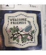 The Sweetheart Tree Spring Blossom Welcome Cross Stitch Kit - $19.39