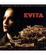 Evita [Motion Picture Music Soundtrack] Madonna, Banderas (2 CD Set, Mar... - $5.99
