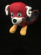 Paw Patrol Super Pups PupPals Marshall w Cape Plush Spin Master NEW! - $11.28