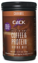 CLICK Coffee Protein Drink Caramel 15.31 Ounce - $22.90