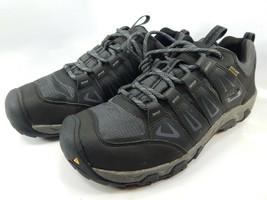 Keen Oakridge Size US 11 M (D) EU 44.5 Men's WP Trail Hiking Shoes Gray 1015313 - $77.37