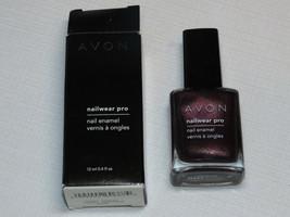 Avon nail Wear Pro Enamel Night Violet 12 ml 0.4 fl oz nail polish mani pedi - $19.80