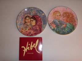 Edna Hibel Royal Doulton Kathleen & Child And Lucia And Child Collectors... - $39.99