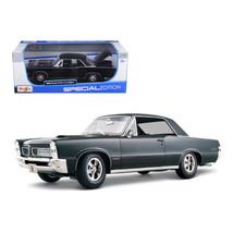 1965 Pontiac GTO Hurst Black 1/18 Diecast Model Car by Maisto 31885bk - $42.98