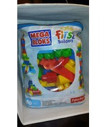 Fisher-Price Mega Bloks First Builders For Ages 1 - 5 Almost Complete Bag - $7.91