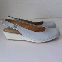 Naturalizer N5 Comfort 11N Wedges Soft Blue Shoes - $24.75