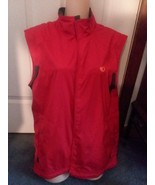 Pearl Izumi Red Cycle vest Elite Barrier New $80.00Tags Medium womens  - $18.00