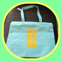 Clinique Tote Light Green Bag for Cosmetics, Makeup, Toiletries, Travel  - $16.78