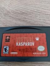 Nintendo Game Boy Advance GBA Virtual Kasparov (Chess) image 2