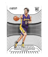 2015-16 Marcelo Huertas Panini Clear Vision Rookie - Los Angeles Lakers - $1.19