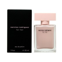 NARCISO RODRIGUEZ FOR HER EAU DE PARFUM SPRAY 30 ML/1 FL.OZ. NIB - $49.01