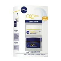 Nivea Q10 Plus Anti-Wrinkle Day & Night Cream Coenzyme Q10 Creatine Duo ... - $49.99