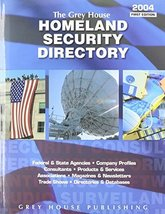 The Grey House Homeland Security Directory [Nov 01, 2003] - $47.47