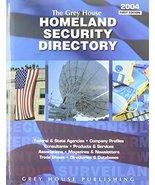 The Grey House Homeland Security Directory [Nov 01, 2003] - $47.47