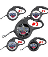 New Orleans Pelicans Retractable Dog Leash tangle free upto 110 lb pet l... - $22.30+
