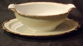 Noritake China Japan Goldora 882 Gravy Bowl AA20-2137 Antique image 3