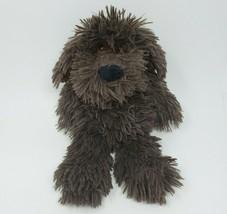 "13"" MARY MEYER DARK BROWN PUPPY DOG FUZZY SOFT STUFFED ANIMAL PLUSH TOY - $36.47"